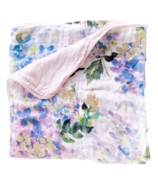 Loulou Lollipop 4 Layer Muslin Quilt Swaddle Blanket Hydrangea
