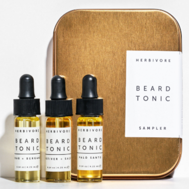 Herbivore Beard Tonic Sampler