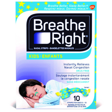 Breathe Right Kids Nasal Strips