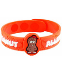 Allermates Allergy Awarness Wristband for Peanuts