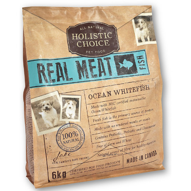 Holistic Choice Real Meat Ocean Whitefish Dog Food