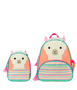 Skip Hop Little Kid Backpack + Insulated Lunch Bag Bundle Llama