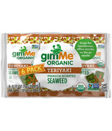gimMe Organic Roasted Seaweed Snack Pack