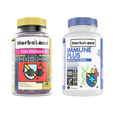 Herbaland Immune Support for the Family Bundle