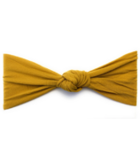 Baby Wisp Headband Nylon Turban Knot Mustard