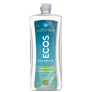 ECOS Dishmate Hypoallergenic Dish Soap Free & Clear