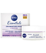 Nivea Essentials 24H Moisture Boost And Soothe Day Cream with SPF 15