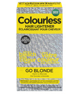 Colourless Hair Lightener Go Blonde Dark to Blonde