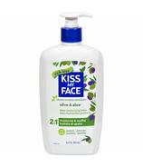 Kiss My Face Olive & Aloe 2-n-1 Deep Moisturizing Body Lotion