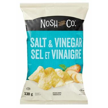 Nosh & Co. Potato Chips Salt & Vinegar