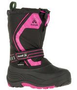 Kamik Snowcoast3 Kid's Boots Black & Magenta