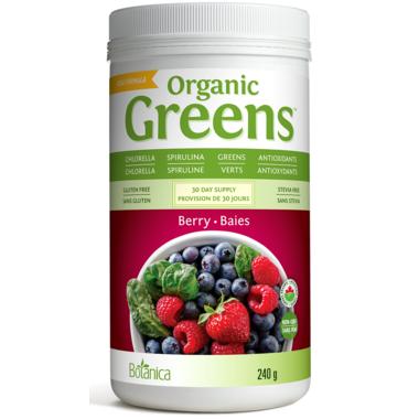 Botanica Greens Organic Berry
