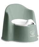 BabyBjorn Potty Chair Deep Green & White