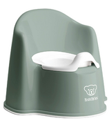 BabyBjorn Potty Chair Deep Green & White