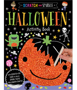 Make Believe Ideas Scratch and Sparkle Halloween Activity Book