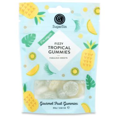 SugarSin Fizzy Tropical Gummies