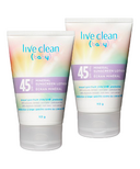 Live Clean Mineral Sunscreen SPF 45 Baby Bundle