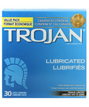 Trojan Classic Lubricated Latex Condoms