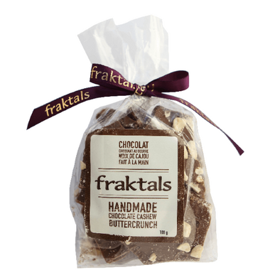 Fraktals Handmade Chocolate Cashew Buttercrunch Bag