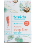 Lavido Natural Soap Bar Musk & Coconut