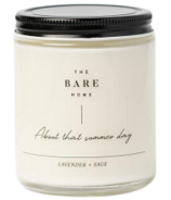 The Bare Home About That Summer Day Candle Lavender Sage