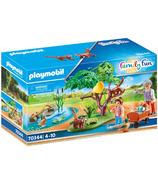 Playmobil Family Fun Red Panda Habitat