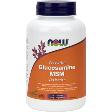 NOW Foods Vegetarian Glucosamine & MSM 1000 mg