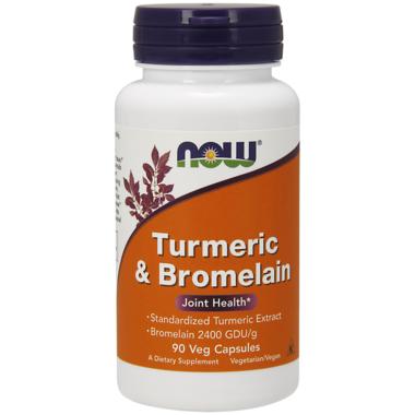 NOW Foods Turmeric & Bromelain Extract