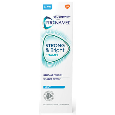 Sensodyne ProNamel Strong & Bright Enamel Daily Care Toothpaste Mint