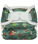 Bummis Super Whisper Wrap Diaper Cover Forest Animals