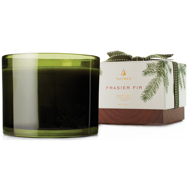 Thymes Fraiser Fir Heritage 3 Wick Poured Candle