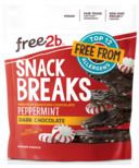 Free2b Snack Breaks Dark Chocolate Peppermint Candies Crunch