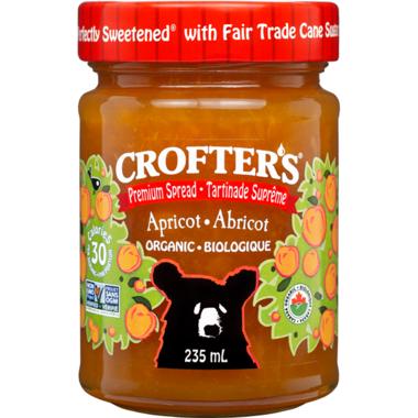 Crofter\'s Organic Apricot Premium Spread