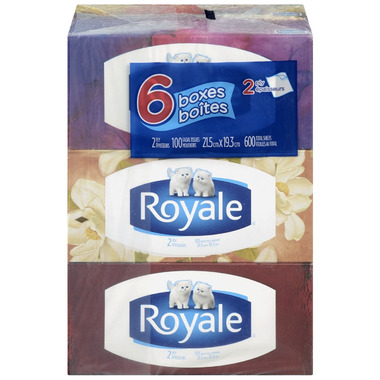 Royale 2-Ply Facial Tissues