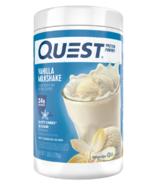 Quest Nutrition Protein Powder Vanilla Milkshake