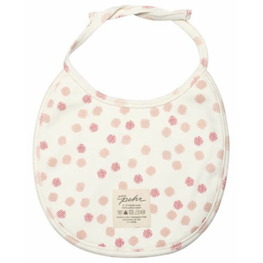 Petit Pehr Bibs Girl Peek-A-Boo Faces and Hatch Dots