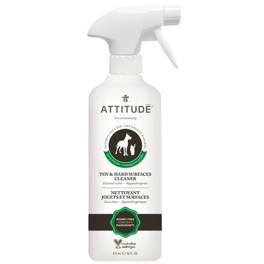 ATTITUDE Furry Friends Toy & Hard Surface Cleaner Coco Lime