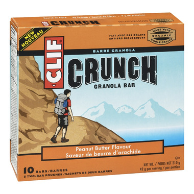 Clif Crunch Peanut Butter Granola Bars