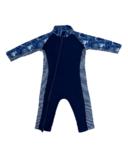 Stonz Infant Sun Suit Navy Wave
