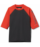 Columbia Sandy Shores Short Sleeve Sunguard Shark Wildfire 2T-4T