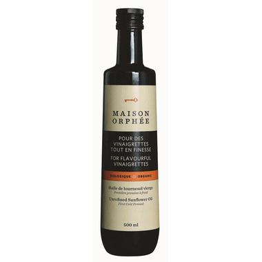 Maison Orphee Organic Sunflower Oil