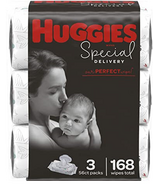 Huggies Special Delivery Hypoallergenic Baby Wipes 3 Pack