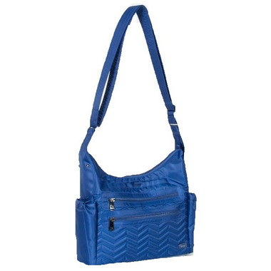 Lug Camper Crossbody Bag Royal Blue