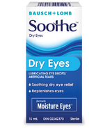 Bausch & Lomb Moisture Eyes Lubricant Eye Drops/Artificial Tears