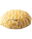 Halfmoon Round Meditation Cushion Limited Edition Honeycomb