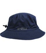 Stonz Bucket Hat Navy 9M-6Y