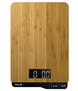 American Weigh Scales ECO-5K Digital Kitchen Scale Bamboo