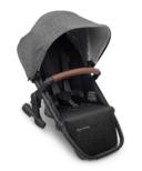 UPPAbaby Rumbleseat V2 Greyson Charcoal Melange Black Saddle Leather