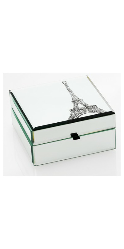 Buy Danielle Creations Dreaming Of Paris Mirrored Jewelry Box At Well Ca Free Shipping 35 In Canada