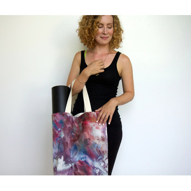 Samyoga Hand Dyed Everyday Tote Bag Cosmos
